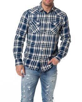 Jack & Jones Belmont Shirt Western Mood Indigo