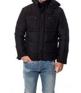 Jack & Jones Cam Puffer Jacket Black