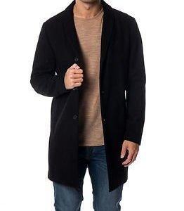Jack & Jones Christian Wool Coat Black
