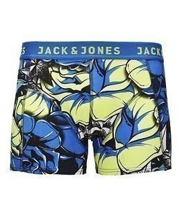 Jack & Jones Graphic Trunks Electric Blue Lemonade