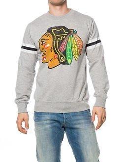 Jack & Jones Hockey Sweat Chicago Blackhawks Light Grey Melange