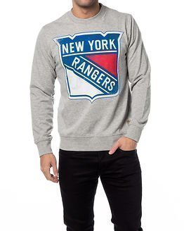 Jack & Jones Hockey Sweat New York Rangers Grey