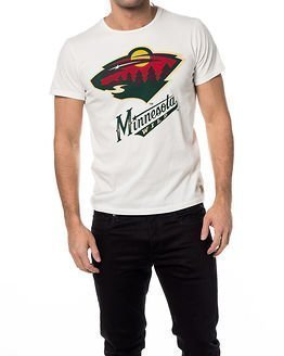 Jack & Jones Hockey Tee Minnesota Wild White