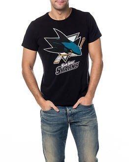Jack & Jones Hockey Tee San Jose Sharks Black