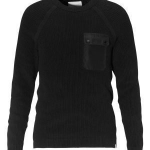 Jack & Jones Houston Knit Crew Neck Black