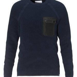 Jack & Jones Houston Knit Crew Neck Navy Blazer
