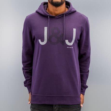 Jack & Jones Huppari Purpuranpunainen