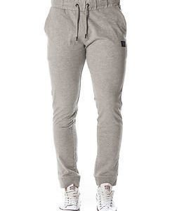 Jack & Jones Identity Sweat Pants Tight Fit Light Grey Melange
