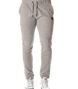 Jack & Jones Identity Sweat Pants Tight Fit Light Grey Melange