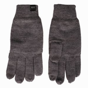 Jack & Jones Jacdna Fingertouch Knit Glove Käsineet Harmaa