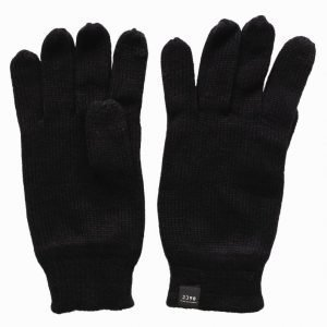 Jack & Jones Jacdna Fingertouch Knit Glove Käsineet Musta