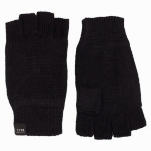 Jack & Jones Jacfingerless Gloves Käsineet Musta