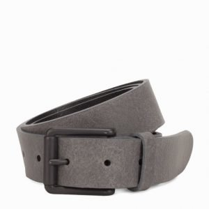 Jack & Jones Jacmarc Leather Belt Vyö Vaaleanharmaa
