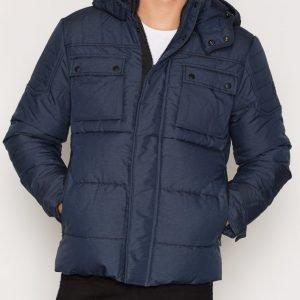 Jack & Jones Jcocam Puffer Jacket Takki Tummansininen