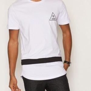 Jack & Jones Jcodog Tee Ss Crew Neck T-paita Valkoinen