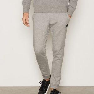 Jack & Jones Jcoidentity Sweat Pants Tight Fit Noos Housut Light Grey Melange