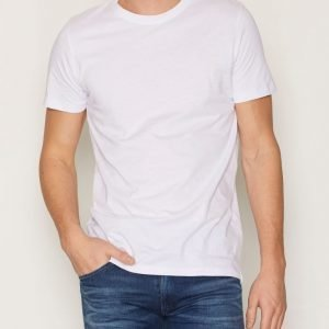 Jack & Jones Jcoreplica Tee Ss Crew Neck Noos T-paita Valkoinen