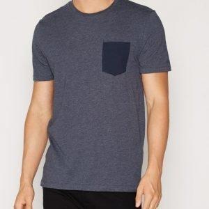 Jack & Jones Jcotable Tee Ss Pocket Noos T-paita Tummansininen