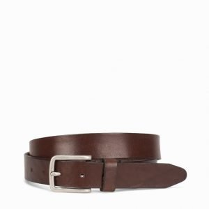 Jack & Jones Jjilee Leather Belt Noos Vyö Musta