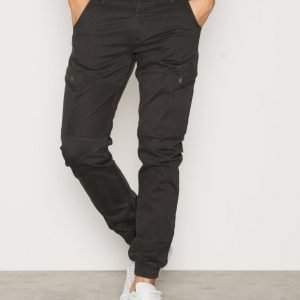 Jack & Jones Jjipaul Jjhunter Akm 247 Phantom Reisitaskuhousut Musta