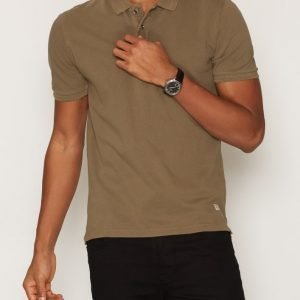 Jack & Jones Jjvwilliam Ss Polo Noos Pikeepaita Ruskea