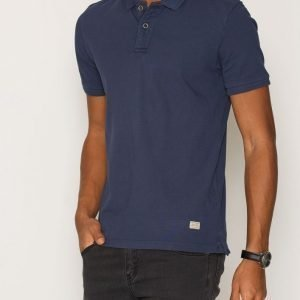 Jack & Jones Jjvwilliam Ss Polo Noos Pikeepaita Tummansininen