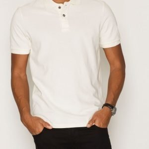 Jack & Jones Jjvwilliam Ss Polo Noos Pikeepaita Valkoinen