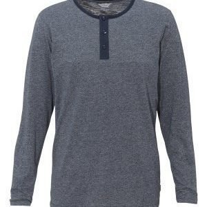 Jack & Jones Pulse Grandad Tee Navy Blazer