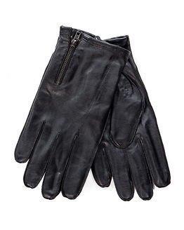 Jack & Jones Raw Leather Glowe Black
