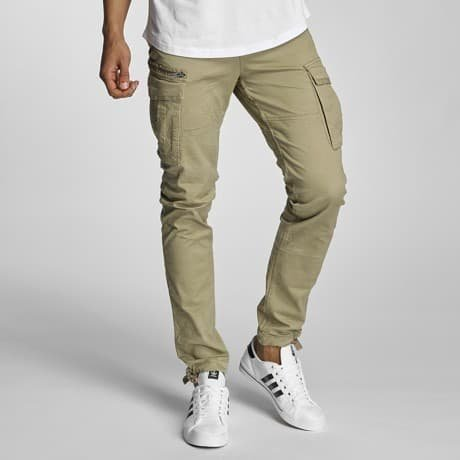 Jack & Jones Reisitaskuhousut Beige
