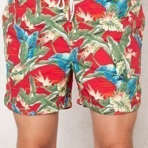 Jack & Jones Romeo Swim Shorts Chinese Red