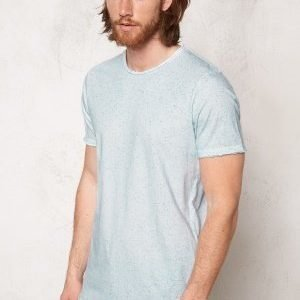 Jack & Jones Splas Crew Neck Tee White 1