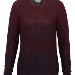 Jack & Jones Swing Knit Crew Neck Syrah