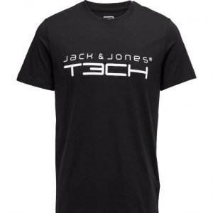 Jack & Jones Tech Jjtcfoamnew Tee Ss Crew Neck Noos