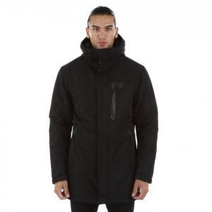 Jack & Jones Tech North Parka Jacket Parkatakki Musta