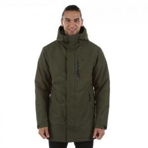 Jack & Jones Tech North Parka Jacket Parkatakki Vihreä