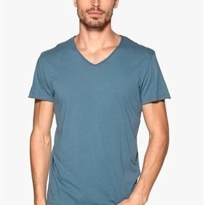Jack & Jones Wolf Tee v-neck Bering Sea