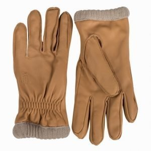 Jack & Jones jjvBO Leather Gloves Käsineet Vaaleanharmaa