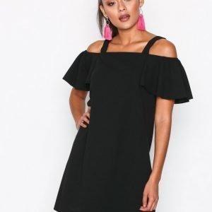 Jacqueline De Yong Jdybernadette Strap Short Dress Jrs Loose Fit Mekko Musta