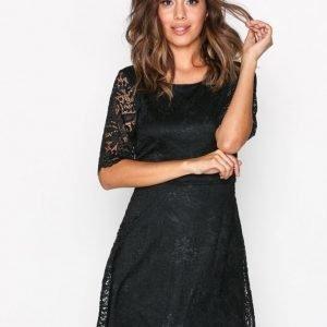 Jacqueline De Yong Jdyparis S / S Lace Dress Jrs Kotelomekko Musta