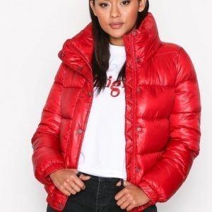 Jacqueline De Yong Jdyroona Cropped Jacket Otw Bomber Takki Punainen