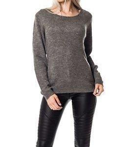 Jacqueline de Yong Arken Pullover Dark Grey Melange