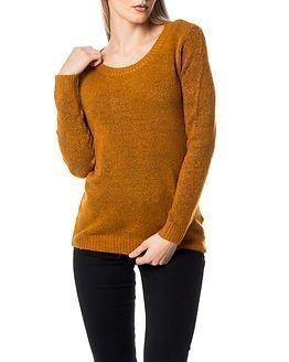 Jacqueline de Yong Arken Pullover Pumpkin Spice