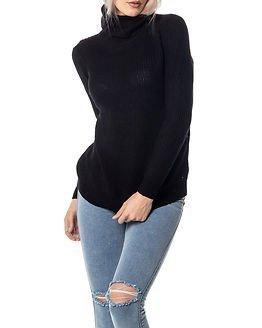Jacqueline de Yong Basky Roll Neck Knit Black