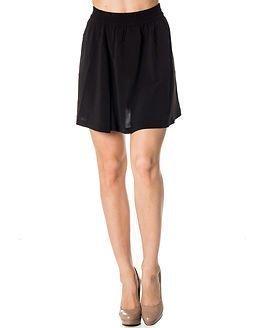 Jacqueline de Yong Beat It Over Knee Skirt Black