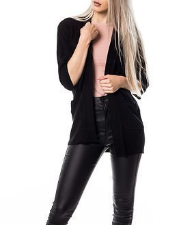 Jacqueline de Yong Bellami Cardigan Black