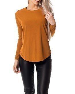 Jacqueline de Yong Chimp Top Pumpkin Spice