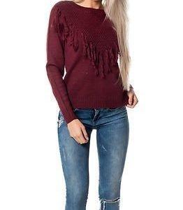 Jacqueline de Yong Clementine Pullover Knit Zinfandel