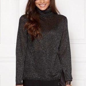 Jacqueline de Yong Colada L/S Glitter Black