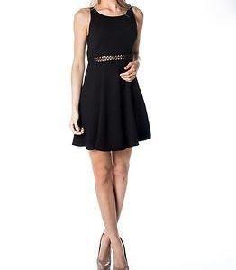 Jacqueline de Yong Daiquiri Dress Black